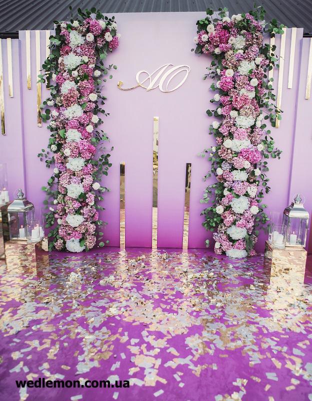 Ідея оформлення фотозони на весілля