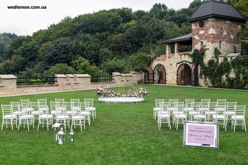 Ідеї оформлення виїзної церемонії шлюбу на весілля