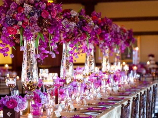 Квіткові композиції на гостьові столи