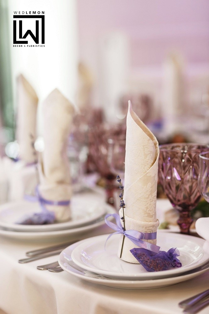 Лаванда на весіллі