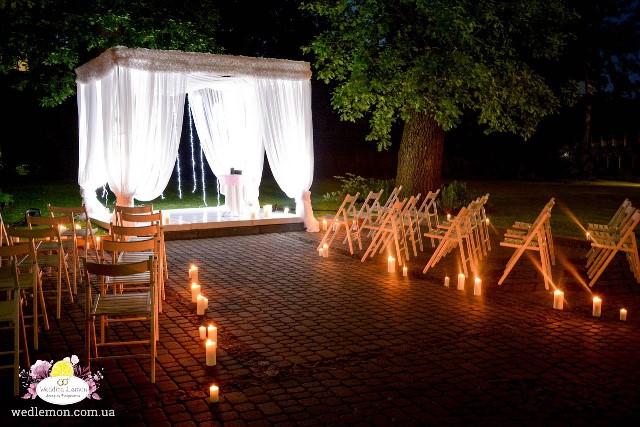 Нічна виїзна церемонія шлюбу