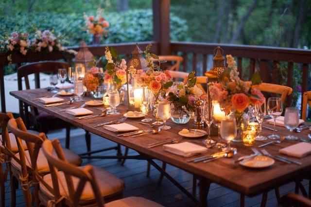Оформлення маленького весілля