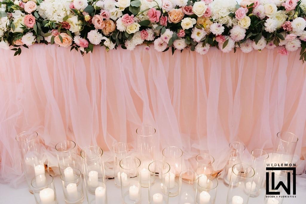 оформлення весільного столу