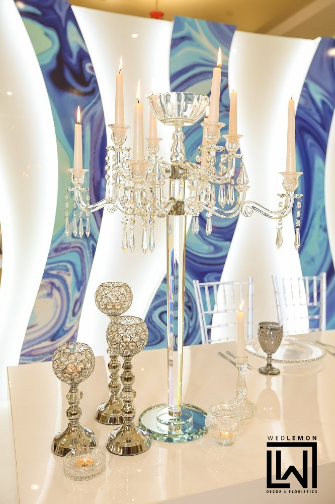 Оформлення столу молодих стильне оформлення на весілля