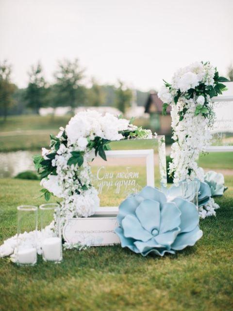 Оформлення зони велком на весілля
