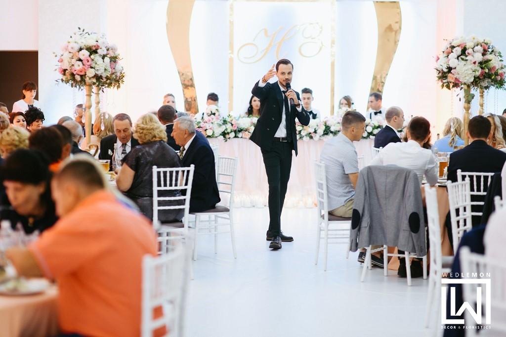 Оформлення залу на весілля у Львові та облості