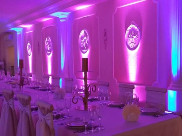 підсвітка весільного залу