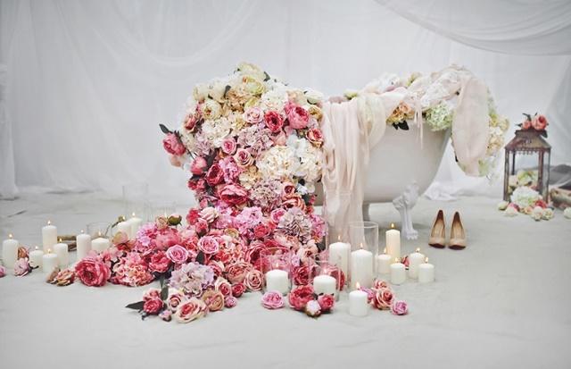 Ранок нареченої оформлений та організований в фото студії
