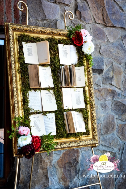 Розсадка гостей доя гостей на моховій основі