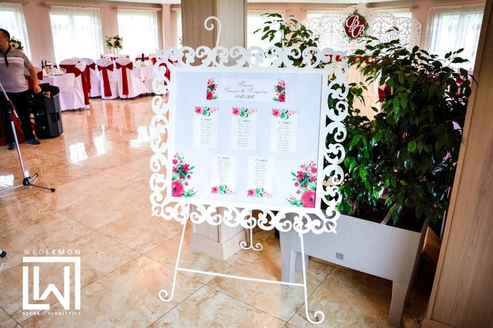 Розсадка на весілля