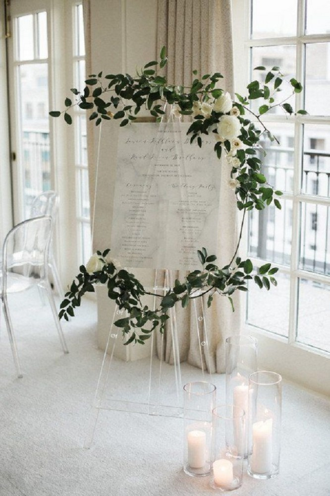 Схема для гостей на весілля