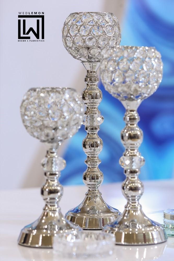 Срібні декори в оформленні