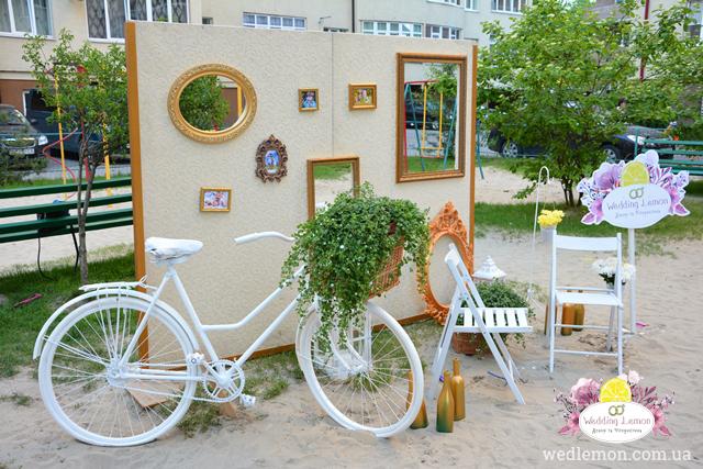 велосипед для фотосесії Львів